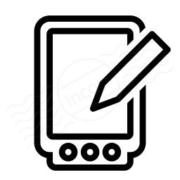 Pda Write Icon 256x256