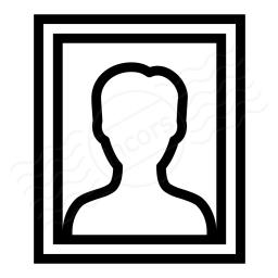 Photo Portrait Icon 256x256