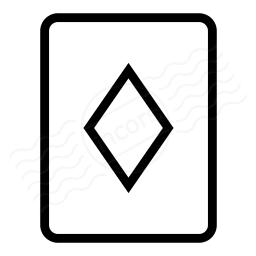 Playing Card Diamonds Icon 256x256