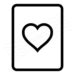Playing Card Hearts Icon 256x256