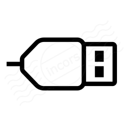 Iconexperience I Collection Plug Usb Icon