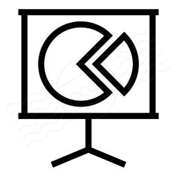 Presentation Chart Icon 256x256