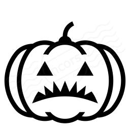 Pumpkin Halloween Icon 256x256