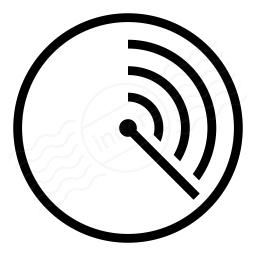 Iconexperience I Collection Radar Icon