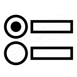 Radio Button Group Icon 256x256