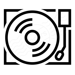Record Player Icon 256x256