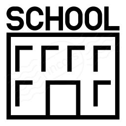 School Icon 256x256