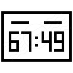 Score Board Icon 256x256