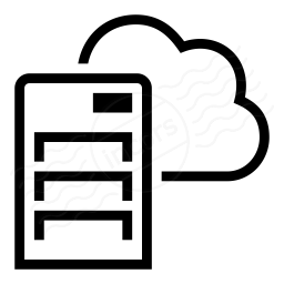 Server Cloud Icon 256x256