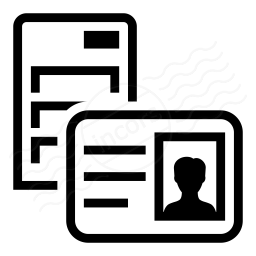 Iconexperience I Collection Server Id Card Icon