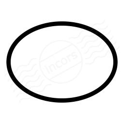 Shape Ellipse Icon 256x256