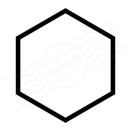 Shape Hexagon Icon 256x256