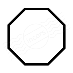 Shape Octagon Icon 256x256