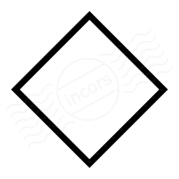 Shape Rhomb Icon 256x256