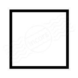 Shape Square Icon 256x256