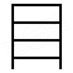 Shelf Empty Icon 256x256
