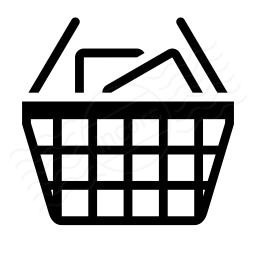 Shopping Basket Full Icon 256x256
