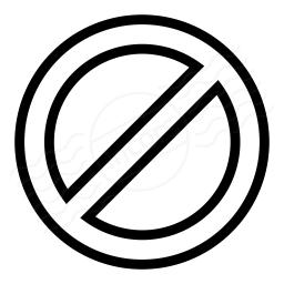 Sign Forbidden Icon 256x256