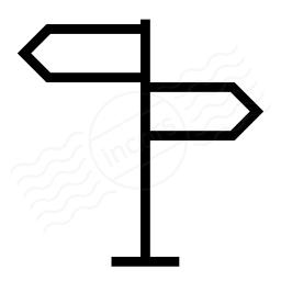 Signpost Icon 256x256