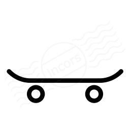 Skateboard Icon 256x256