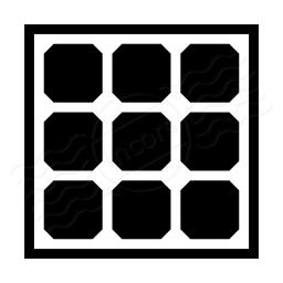 Solar Panel Icon 256x256