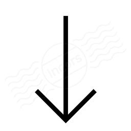 Sort Down Icon 256x256