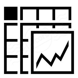Spreadsheed Chart Icon 256x256