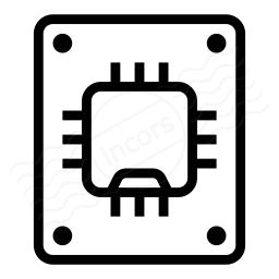 Ssd Drive Icon 256x256