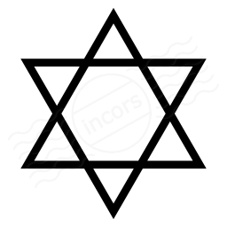 Star Of David Icon 256x256