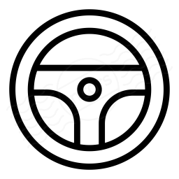 Steering Wheel Icon 256x256