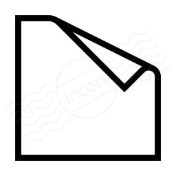 Sticky Note Icon 256x256