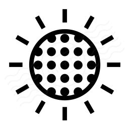 Sun Dimmed Icon 256x256