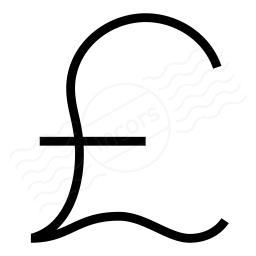 Symbol Pound Icon 256x256