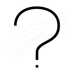 Symbol Questionmark Icon 256x256