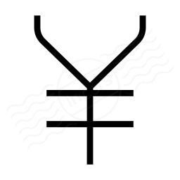 Symbol Yen Icon 256x256
