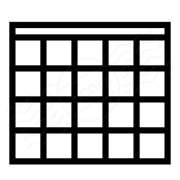 Table Icon 256x256