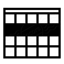 Table Selection Row Icon 256x256