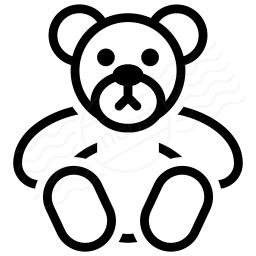 Teddy Bear Icon 256x256