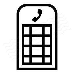 Telephone Box Icon 256x256