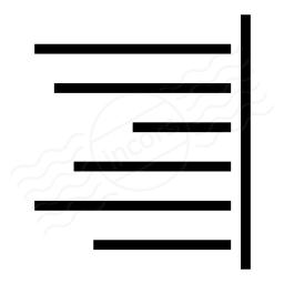Text Align Right Icon 256x256