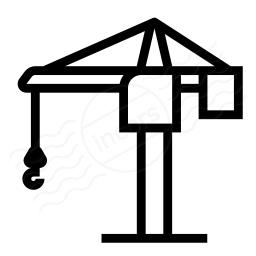 Tower Crane Icon 256x256