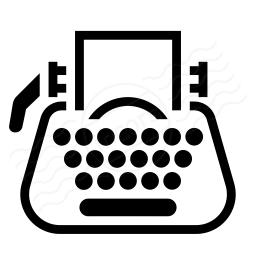 Typewriter Icon 256x256