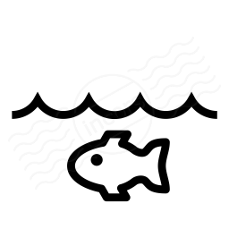 Water Fish Icon 256x256