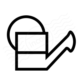 Watering Can Half Icon 256x256