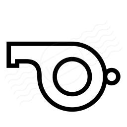 Whistle Icon 256x256