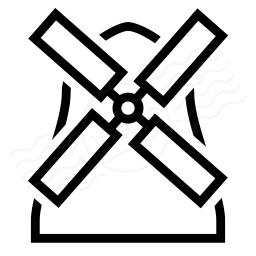 Windmill Icon 256x256
