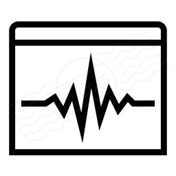 Window Oscillograph Icon 256x256