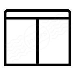 Window Split Hor Icon 256x256