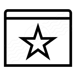 Window Star Icon 256x256