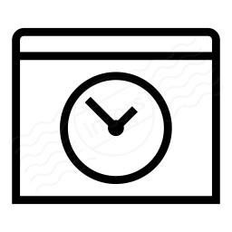 Window Time Icon 256x256